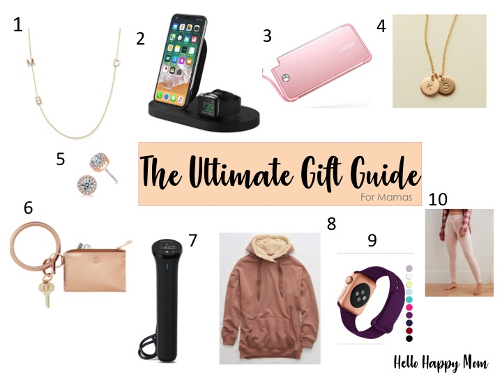 This list of gift ideas for mamas is my favorite! Everything from hoodies to jewelry!