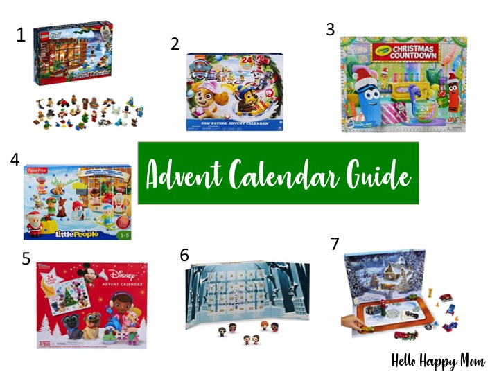 Advent Calendar Guide